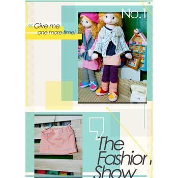 太樂童裝 韓版時尚 超實二穿3件組 可當腳套或手套哦~3色 桔螢條紋(5)