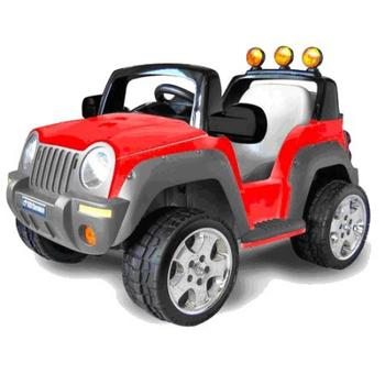 ★結帳現折★久達尼 久達尼TCV-335雷鳥電動吉普車(紅色)