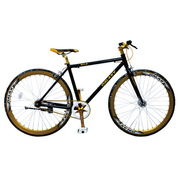 《BIKEDNA》XL1.2 Fixed Gear單速車(騎士黑)