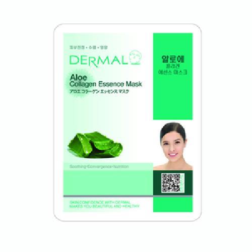 《韓國Dermal》蘆薈保濕修護面膜(23g/包)