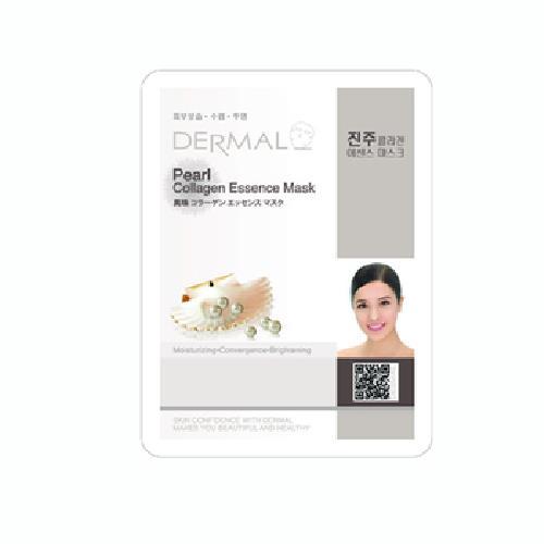 《韓國Dermal》珍珠保濕亮采面膜(23g/包)