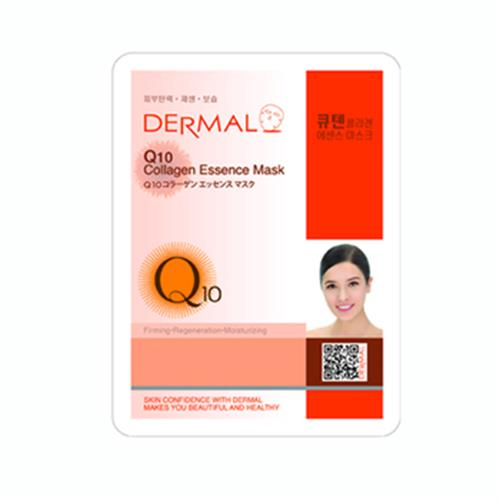 韓國Dermal Q10彈性活膚面膜(23g/包)