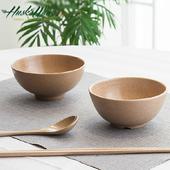 《Husk's ware》稻殼天然無毒環保餐碗筷組(6碗6筷)
