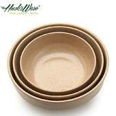 《Husk's ware》稻殼天然無毒環保平底圓碗三件組
