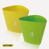 《VICTORY》三角形/收納籃/垃圾桶