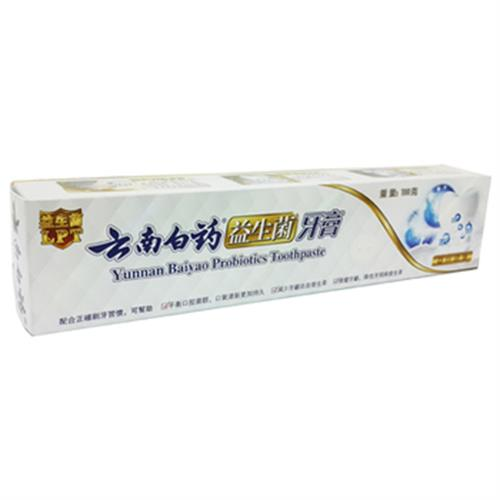 雲南白藥 益生菌牙膏-益口清馨(100g/條)