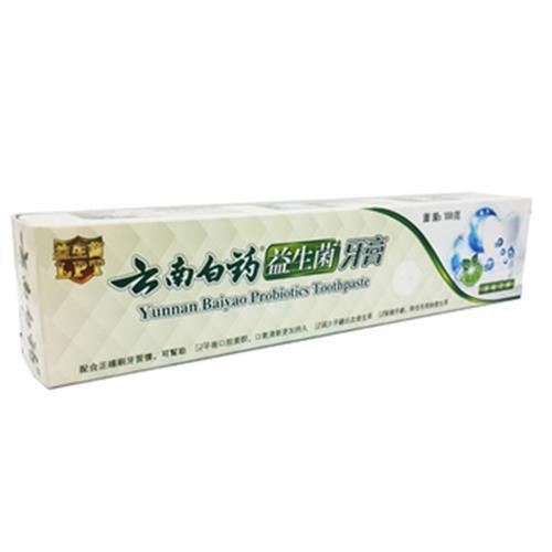 雲南白藥 益生菌牙膏-冰爽青檸(100g/條)
