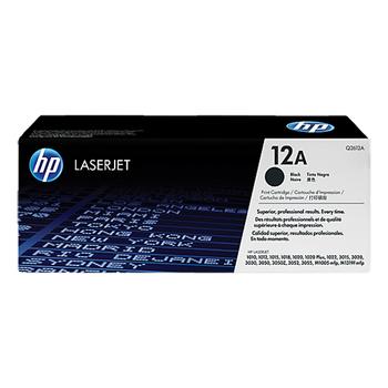 HP 原廠碳粉匣 Q2612A 適用 HP LJ 1010/1020/3050/M1005 (2,000張)(Q2612A)