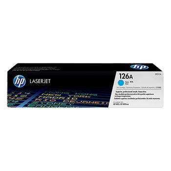 HP 原廠碳粉匣 適用 HP CLJ CP1025(1,000張)(CE311A 藍色)