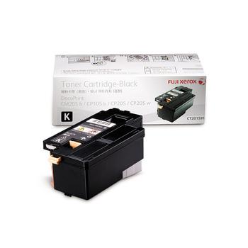 富士全錄 【粉有禮貼紙】原廠黑色碳粉匣 CT201591 適用 CP105/CP205/CM215(CT201591 黑色)