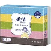 《柔情》抽取式衛生紙(100抽*12包)