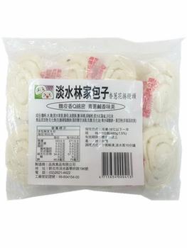 淡水林家包子 香蔥花捲饅頭(480g+-5%,8粒/包)