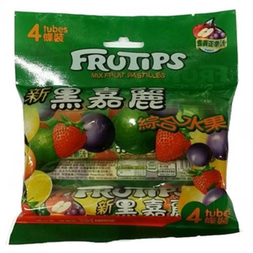 雀巢 黑嘉麗綜合水果糖果(4條*52.5g/包)