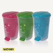《VICTORY》分離式/腳踏式/亮麗/垃圾桶(長內桶)