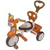 快樂熊喇叭手控三輪車(橘色)