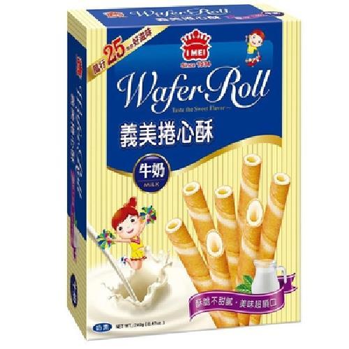 義美 牛奶捲心酥(198g/盒)