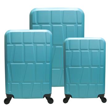 RAIN DEER 18/22/26*拚圖系列*ABS輕硬殼3件組行李箱(酒紅色)