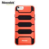 《Nexestek》運動款全包覆手機保護殼 - Apple iPhone 6 PLUS (5.5 吋) 專用(熾焰橘/黑色)