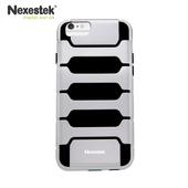 《Nexestek》運動款全包覆手機保護殼 - Apple iPhone 6 (4.7吋) 專用(極光銀/黑色)