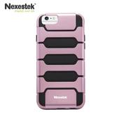 《Nexestek》運動款全包覆手機保護殼 - Apple iPhone 6 (4.7吋) 專用(櫻花粉紅/黑色)