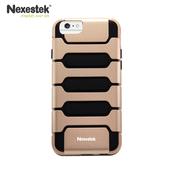 《Nexestek》運動款全包覆手機保護殼 - Apple iPhone 6 (4.7吋) 專用(香檳金/黑色)