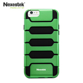 《Nexestek》運動款全包覆手機保護殼 - Apple iPhone 6 (4.7吋) 專用(綠/黑色)