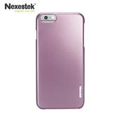 《Nexestek》Nexestek 類金屬質感手機保護殼- iPhone 6 (4.7吋) 專用(櫻花粉紅色)