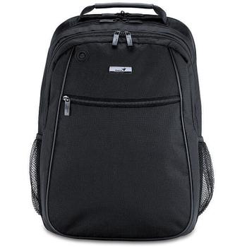 《Genius》G-B1520 多層次輕便都會休閒後背包(黑色)