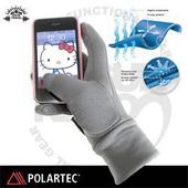 《SNOW TRAVEL》美國X-STATIC銀纖維保暖觸控手套_AR-61 C(灰 M)