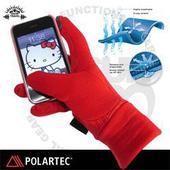《SNOW TRAVEL》美國X-STATIC銀纖維保暖觸控手套_AR-61 C(紅 M)