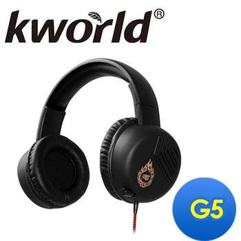 Kworld廣寰 頭戴式電競耳麥G5