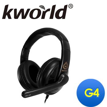 Kworld廣寰 頭戴式電競耳麥G4