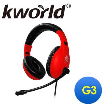 Kworld廣寰 頭戴式電競耳麥G3