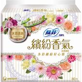 《蘇菲》繽紛香氣超薄護墊-沐浴清新(80片)