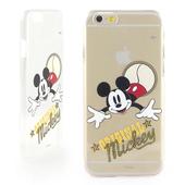 《Disney》iPhone 6 彩繪經典系列透明保護硬殼-經典米奇/經典米妮/復古米奇(經典米妮)