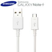 《SAMSUNG》Galaxy Note4 N910U / DU4AWE Micro 原廠充電線 原廠傳輸線 150cm(白色)