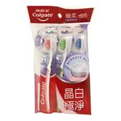 《高露潔》纖柔雙效潔淨牙刷(3支/組)