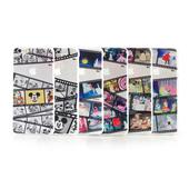 《Disney》iPhone 6 plus 彩繪膠捲系列透明保護硬殼(黑白米奇)