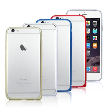 AGEX AGEX IPHONE 6 (4.7吋)薄型鋁製保護框-四色(香檳金)