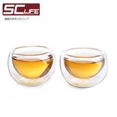 《SC life》雙層玻璃品茗杯(十入組)