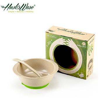 ★結帳現折★Husk's ware 美國Husk's ware稻殼天然無毒環保兒童小餐碗(附小湯匙)(綠色)