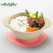 《Husk's ware》美國Husk's ware稻殼天然無毒環保兒童微笑餐碗