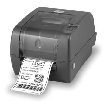 TSC TTP-345 標籤機 條碼機(營養標示/老鼠標/衣標) (贈外掛架+碳帶+銀龍紙)