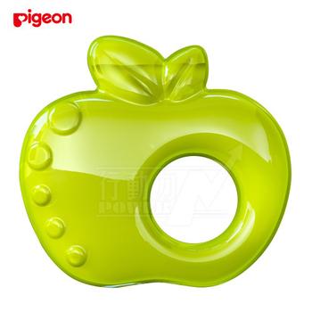 日本《Pigeon貝親》 冰涼固齒器(蘋果)