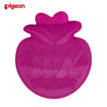 日本《Pigeon貝親》 冰涼固齒器(草莓)