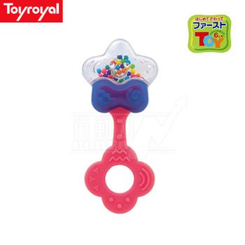 日本《樂雅 Toyroyal》 星星型固齒搖鈴(可消毒)