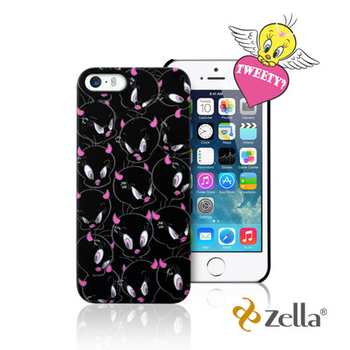 Zella iPhone5/5S Tweety天使與魔鬼系列保護殼 (Z-SNAP)(黑色)