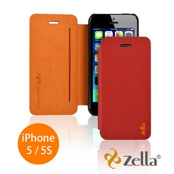 Zella iPhone 5 /iPhone 5S 手機皮套 (Z-Slim iphone5)(紅色)
