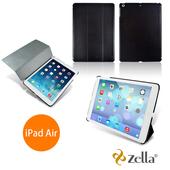 《Zella》Air保護皮套 (Z-smart Air(BK))(黑色)