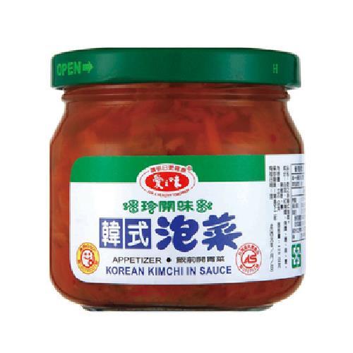 愛之味 韓式泡菜(190gx3瓶/組)